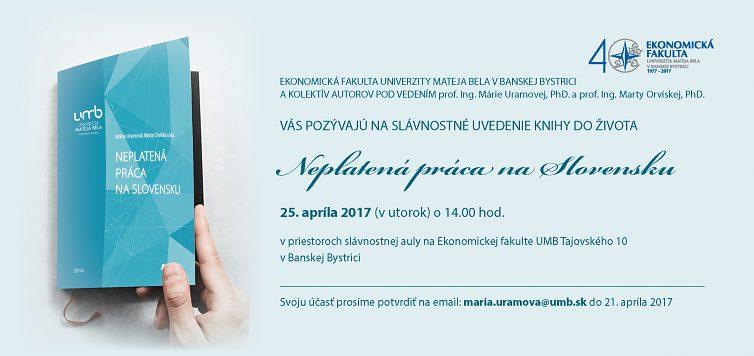 Neplatená práca v slovenských domácnostiach vo svetle výskumu