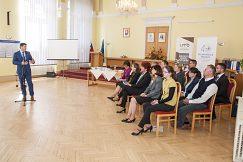 Štátny tajomník Ministerstva práce, sociálnych vecí a rodiny SR Mgr. Branislav Ondruš