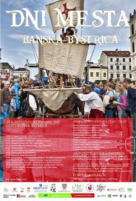 """""""Dni mesta Banská Bystrica 2017 – otvorenie Kultúrneho leta"""","""