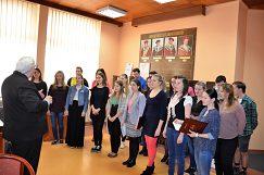 Zbor zaspieval piesne, s ktorými sa predstavill vo Vojvodine