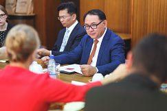 Návšteva čínskej partnerskej univerzity na UMB