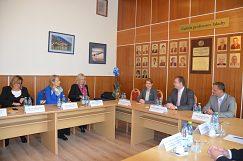 Privítanie delegácie UNESCO na pôde EF UMB
