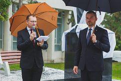 Príhovor rektora pred odhalením sochy Mateja Bela
