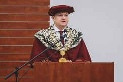 Prejav rektora doc. Ing. Vladimíra Hiadlovského, PhD.