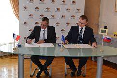 Podpis rámcovej zmluvy o spolupráci s Université Champagne-Ardenne.