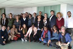 Prijatie delegácie UMB v Saint-Quentin.