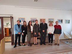 delegácia UMB na prijatí u konzula Miroslava Mojžitu