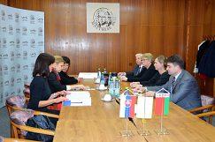 Spoločné rokovanie zástupcov oboch univerzít