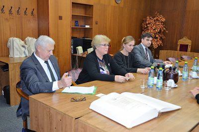 Delegácia z Bieloruskej štátnej univerzity