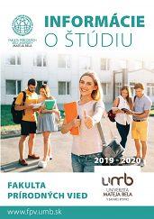 Ponuka štúdia na AR 2019/2020
