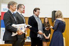 Slávnostné odovzdávanie francúzskych diplomov