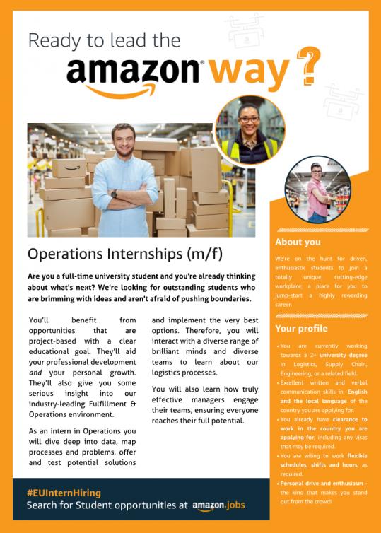 Operations Internships