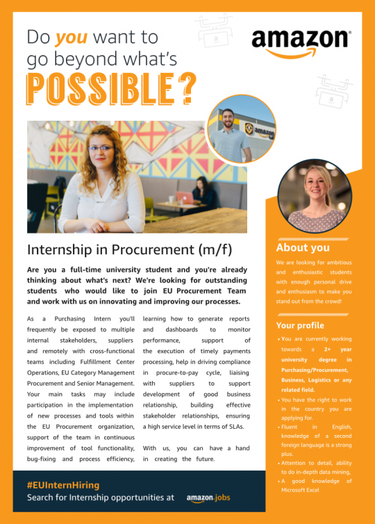 Internship in Procurement