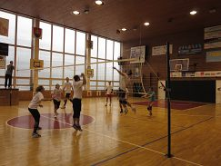 Volejbalový turnaj základných, stredných a vysokých škôl