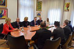 Pracovné stretnutie na Univerzite v Mostare