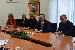 Meeting at the University of Mostar