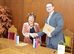 Podpísanie Dohody o spolupráci