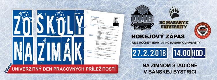 Dňa 27. februára 2018 zimný štadión prilákal nielen fanúšikov univerzitnej  hokejovej ligy 3d8a8b19da6