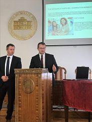Návšteva delegácie UMB na Univerzite v Sarajeve