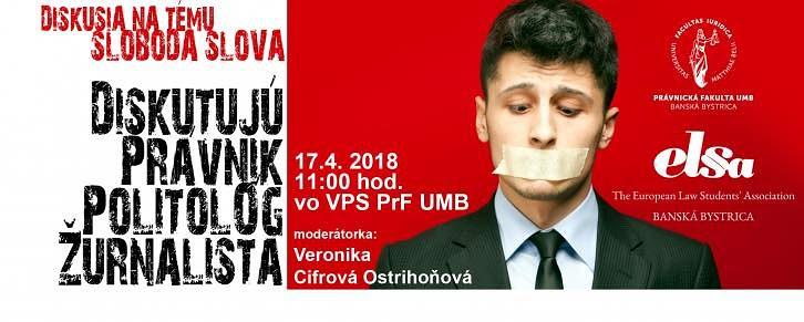 Diskusia na tému SLOBODA SLOVA