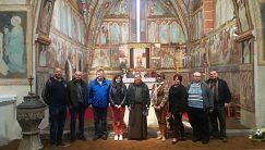 Návšteva kostola v obci Poniky