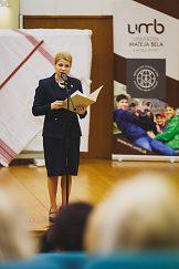 Príhovor prorektorky Kataríny Chovancovej