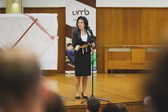 PhDr. Vilma Prívarová, zástupkyňa Úradu pre Slovákov žijúcich v zahraničí