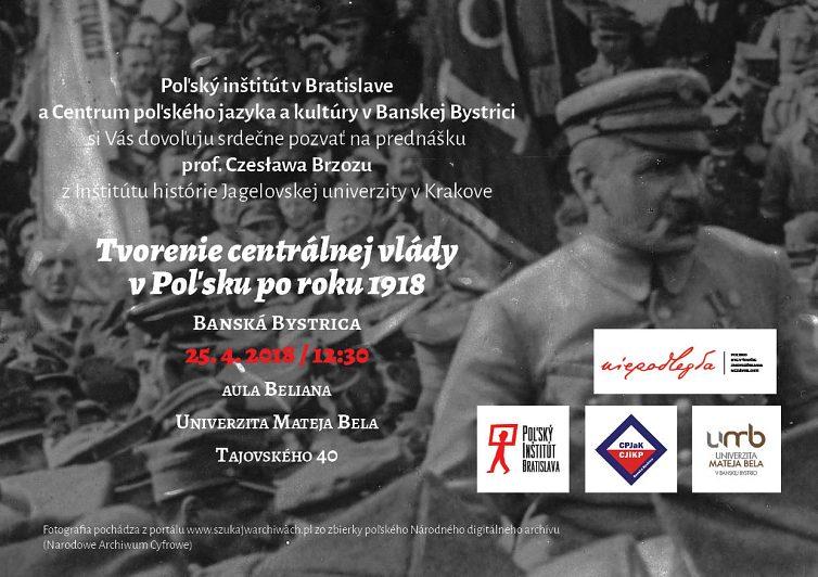 Tvorenie centrálnej vlády v Poľsku po roku 1918