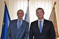 Prof. Konrad Paul Liessmann a doc. Ing. Vladimír Hiadlovský, PhD.