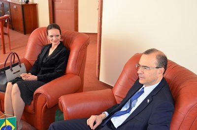 Manželka pána veľvyslanca a pán veľvyslanec