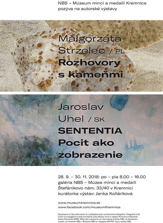 Autorská výstava Małgorzaty STRZELEC a Jaroslava UHELA