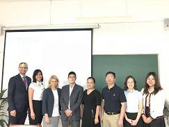 Návšteva delegácie UMB na Zhejiang Yuexiu University of Foreign Languages