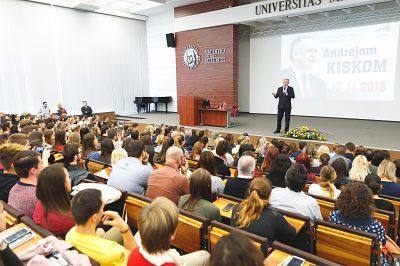 Stretnutie prezidenta SR so študentmi
