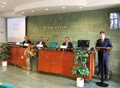 Prednáška ministra Miroslava Lajčáka
