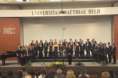 Absolútny víťaz Spevácky zbor Collegium paedagogicum Pedagogickej fakulty Karlovej univerzity v Prahe