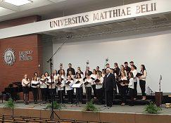 Otvárací koncert UNIVERZITNÝ SPEVÁCKY ZBOR MLADOSŤ UMB