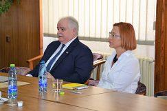 Pracovné stretnutie s prof. dr hab. Barbarou Czopek-Kopciuch