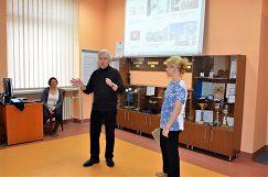Визит педагогов из Украины