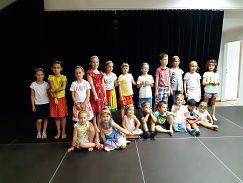 Malí účastníci Letnej školičky tradičnej kultúry 2019