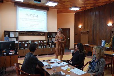Prvé nadnárodné stretnutie k projektu Ja Som