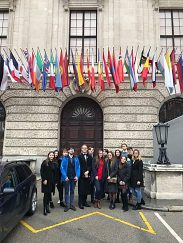 Exkurzia na Sekretariáte OBSE vo Viedni