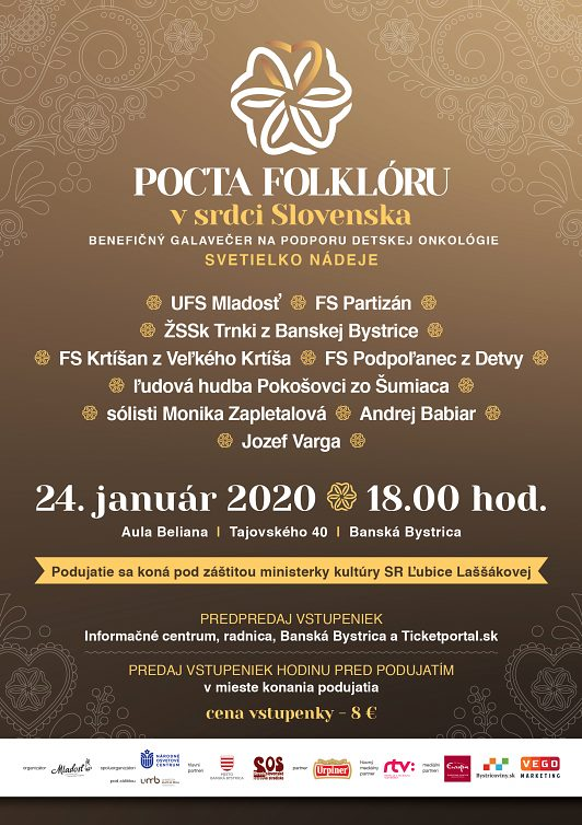 Pocta folklóru v srdci Slovenska