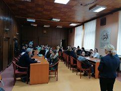 Prijatie na pôde rektorátu UMB