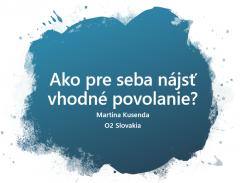 Martina Kusenda, O2