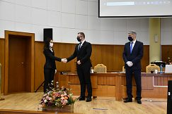 Gratulácia k úspešnej obhajobe doc. PaedDr. Elene Bendíkovej, PhD.