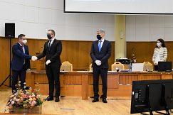 Gratulácia k úspešnej obhajobe doc. Mgr. Martinovi Muránskemu, PhD.