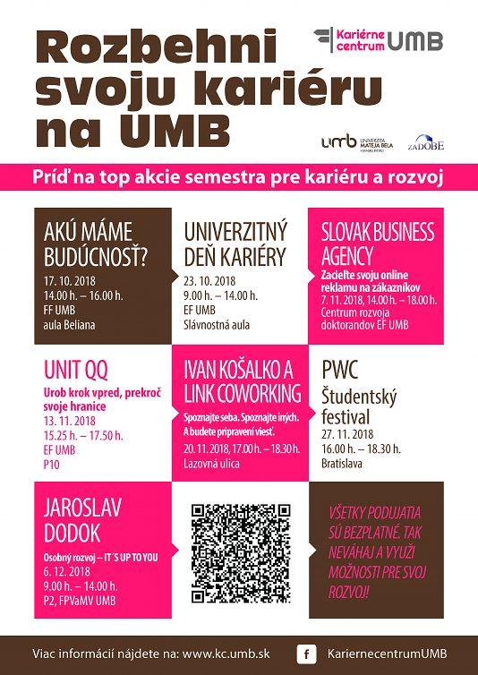 Rozbehni svoju kariéru na UMB