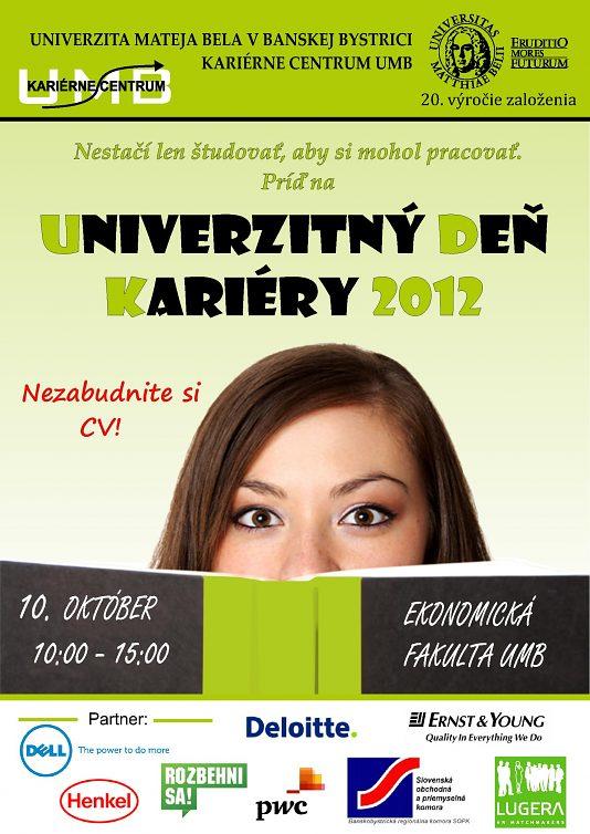 Univerzitný deň kariéry 2012 (jeseň)