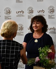 Gratulácie vedenia UMB