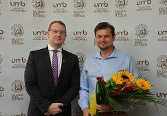 rektor UMB doc. Ing. Vladimír Hiadlovský, PhD. a doc. PaedDr. Radovan Gura, PhD.